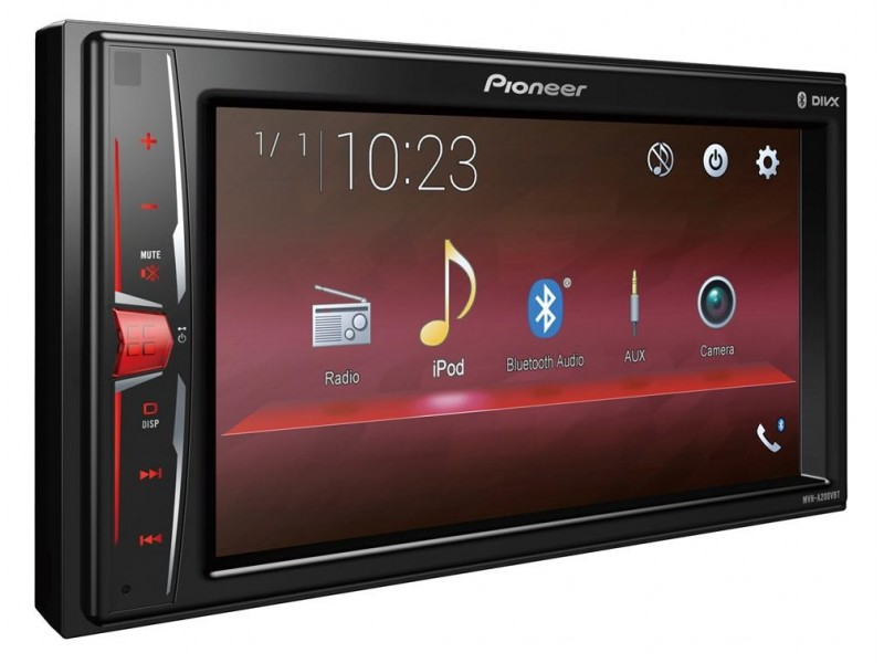 Pioneer MVH-200VBT - radio bluetooth usb