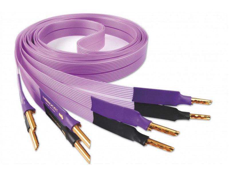 Nordost Purple Flare speaker cable - bananas