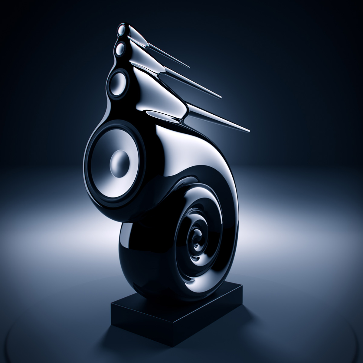 bowers wilkins nautilus kosmas audio video. Black Bedroom Furniture Sets. Home Design Ideas