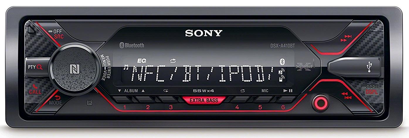 sony dsx a410bt radio usb bluetooth kosmas audio video. Black Bedroom Furniture Sets. Home Design Ideas