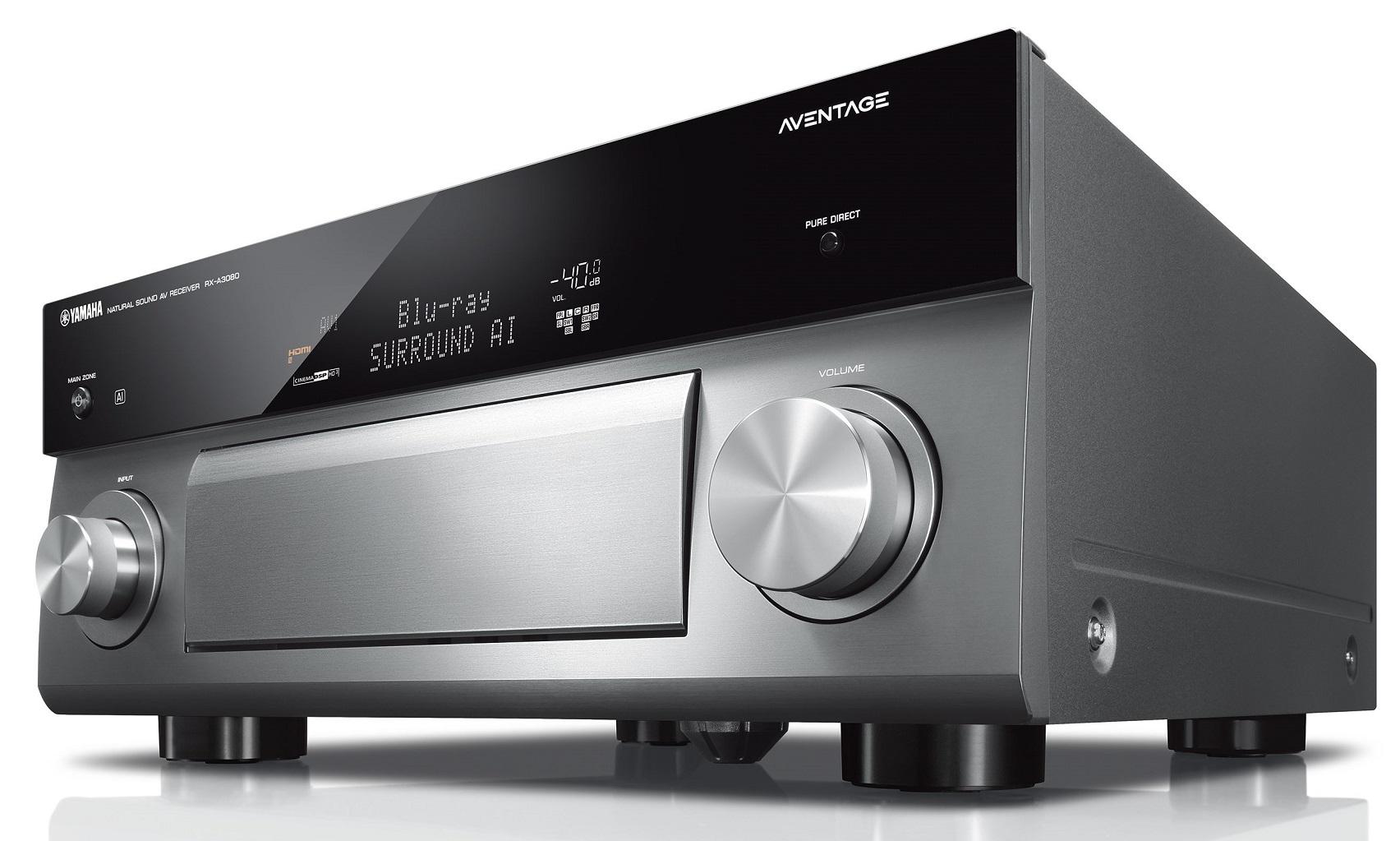 yamaha rx a3080 aventage silver titanium kosmas audio video. Black Bedroom Furniture Sets. Home Design Ideas