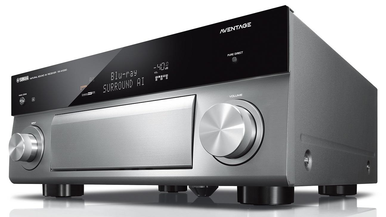 yamaha rx a1080 aventage silver titanium kosmas audio video. Black Bedroom Furniture Sets. Home Design Ideas